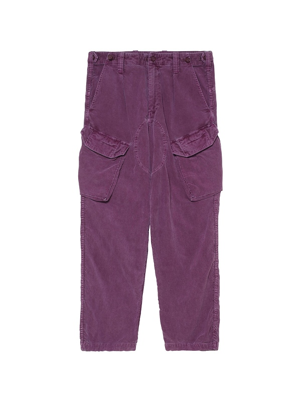 【C.E/CAVEMPT】OVERDYE CORD COMBAT PANTS CES18PT09(2色)