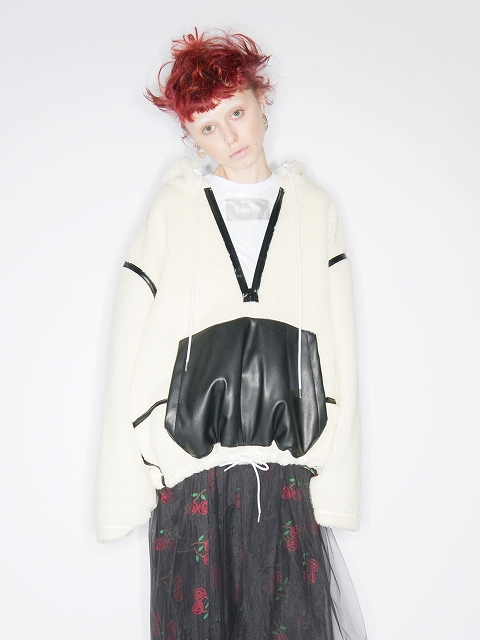 【DISCOVEREDディスカバード】 Boa pull parka DC-AW19-CU-06(2色)