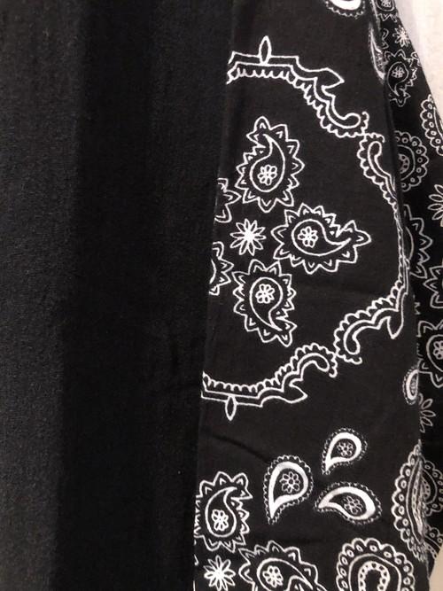 【WEYEP】リメイクバンダナTEE 【NIRVANA 】No.R-W-083 remake rocktee sleeve bandana shirt