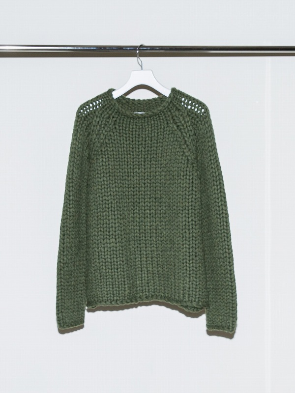 【予約】【no./numberナンバー】 THICK THREAD KNIT 21-FW-KN-01(3色)