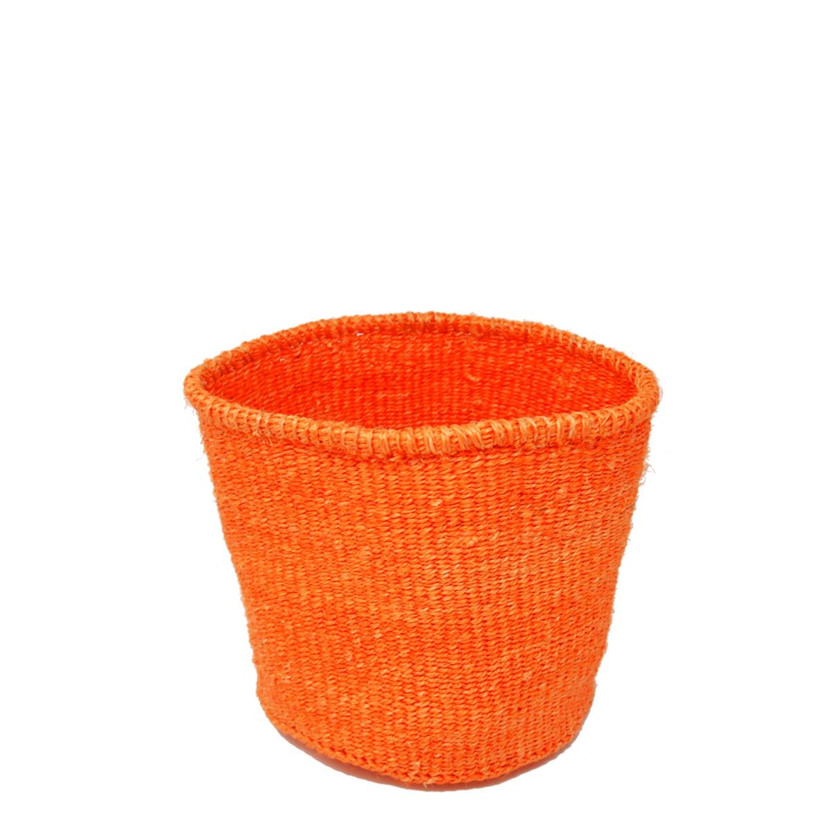 かご Sサイズ ベーシック オレンジ