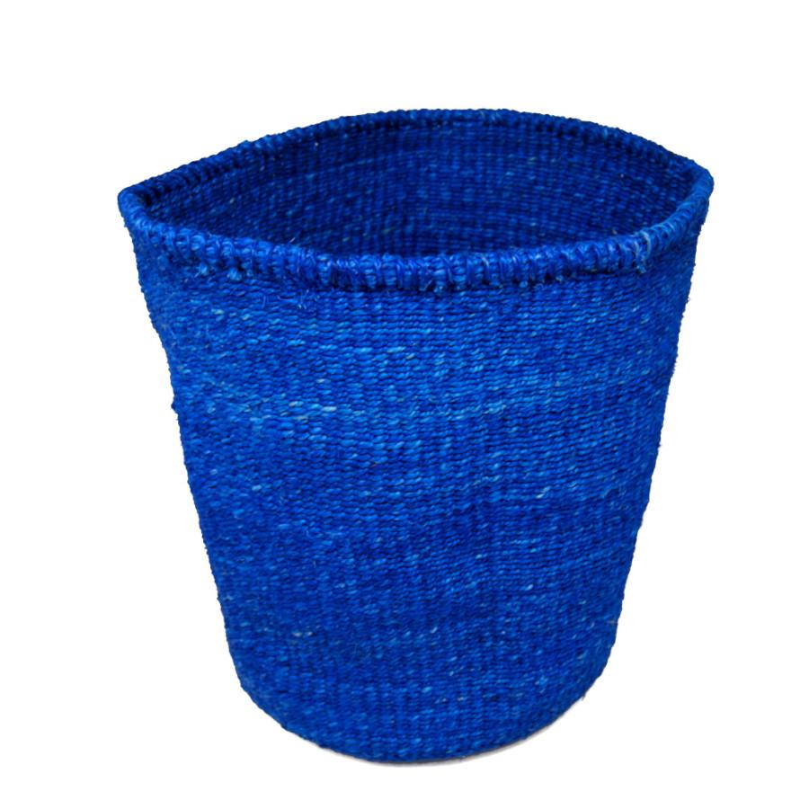 かご Lサイズ ベーシック ブルー