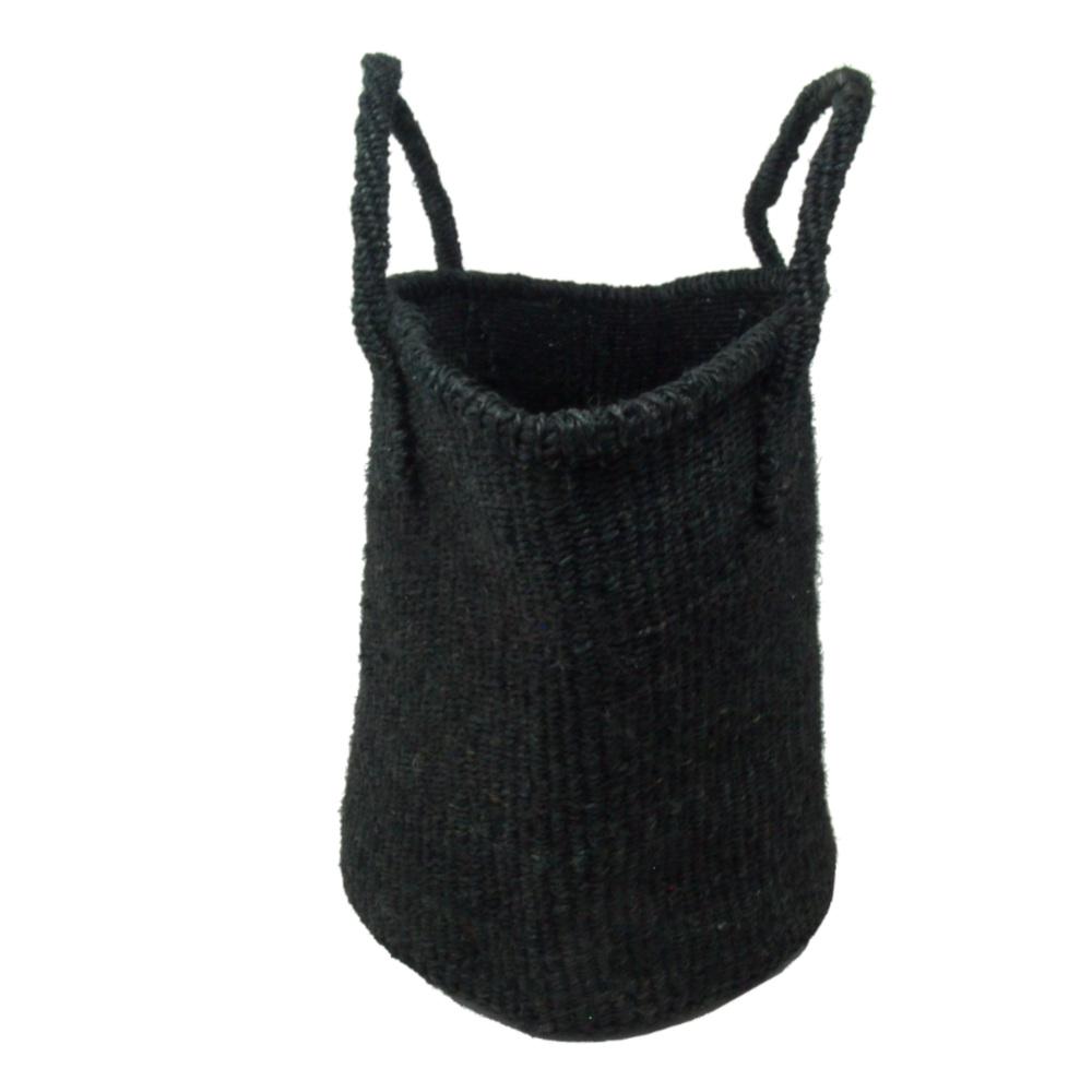 サイザルバッグ Mサイズ ベーシック ブラック