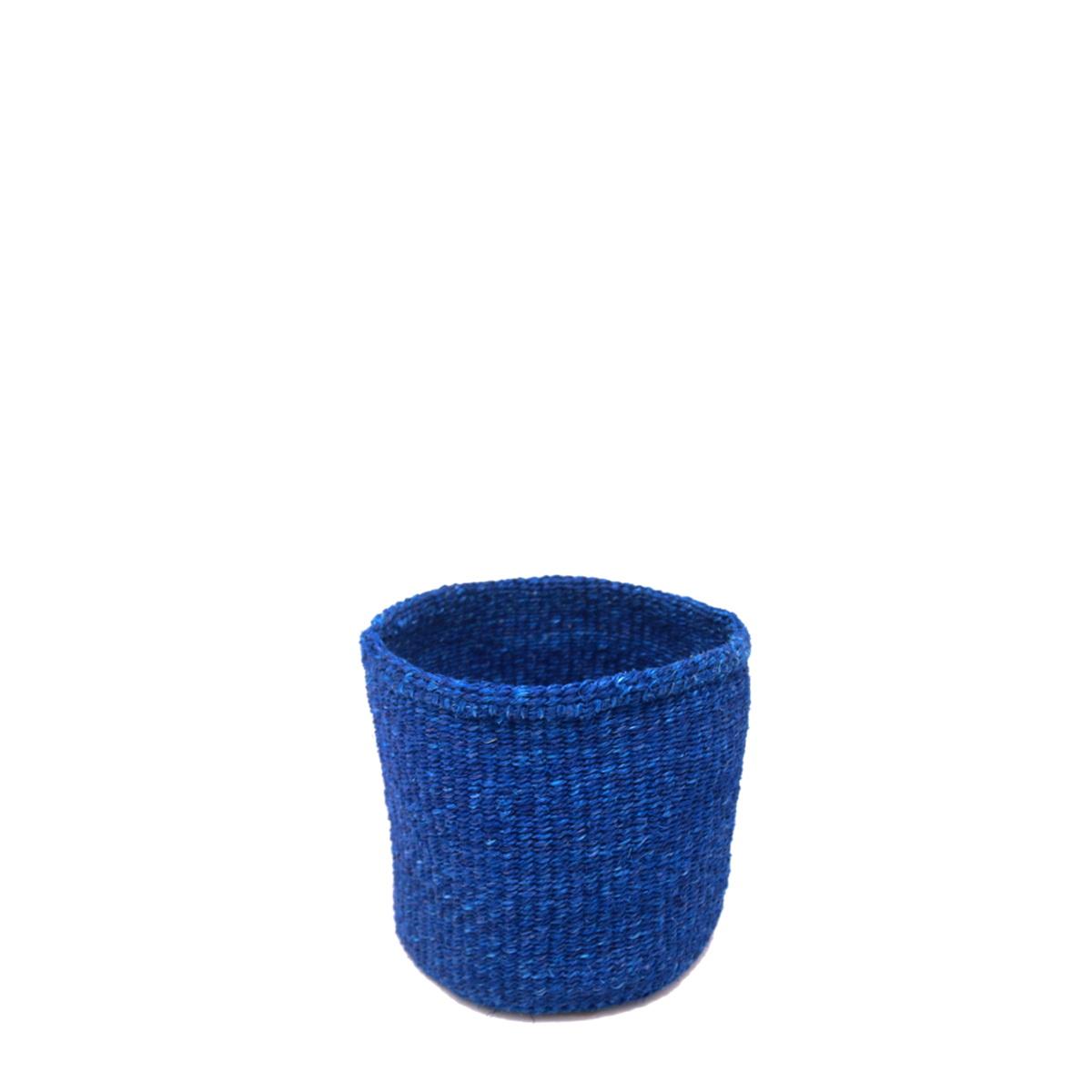かご SSサイズ ベーシック ブルー