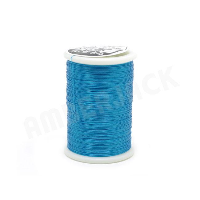 YGK よつあみ<br>ダイニーマ セキ糸 三つ編 <br>0.6号、0.8号、1号<br> S020【マリンブルー】<br>ジギング アシストフック せき糸