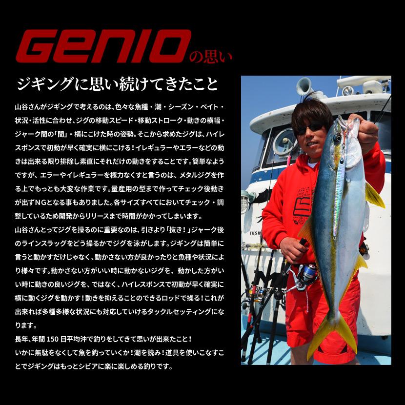 ジニオ ロッカ 200g AJ別注カラー <br>GENIO Locka <br>ジギング メタルジグ
