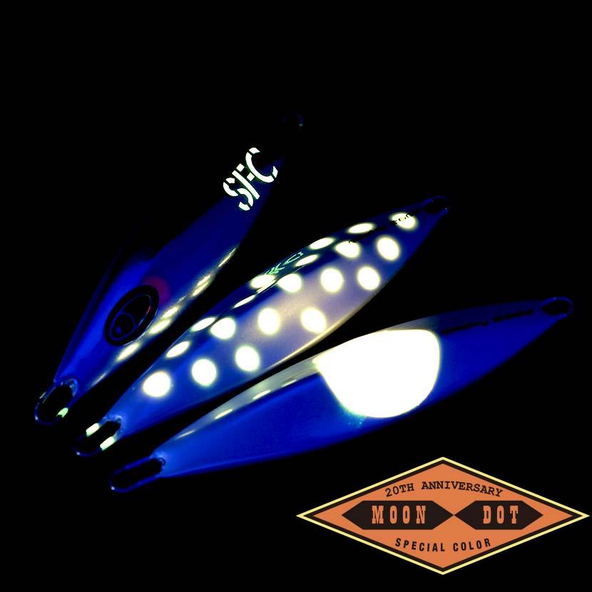 ガーキー 260g  AJ別注カラー デカンパメモリアル ドット&ムーン ピンクグロー シーフロアコントロール SEAFLOOR CONTROL gawky  ジギング メタルジグ