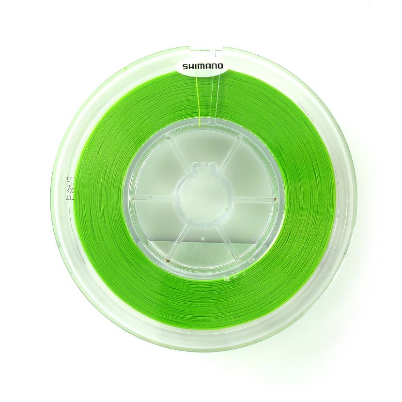 SHIMANO シマノ<br>OCEA JIGGER MX4 PE PL-094P Lime Green<br>オシアジガー PEライン 1.2号 (20lb 9.1kgf)<br>600m ライムグリーン<br>スロー系 対応 / マーカーレス仕様