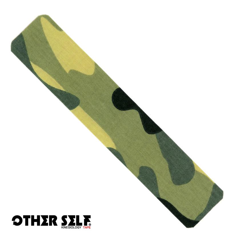 アザーセルフ キネシオロジーテープ お試し用 5cm×24.5cm<br> 《 OTHER SELF 》<br>迷彩 カモフラ デザイン<br>スポーツ ジギング テーピング