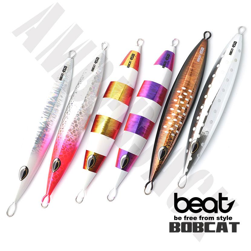 ボブキャット 300g グロー NEW COLOR ビート beat BOBCAT ジギング メタルジグ