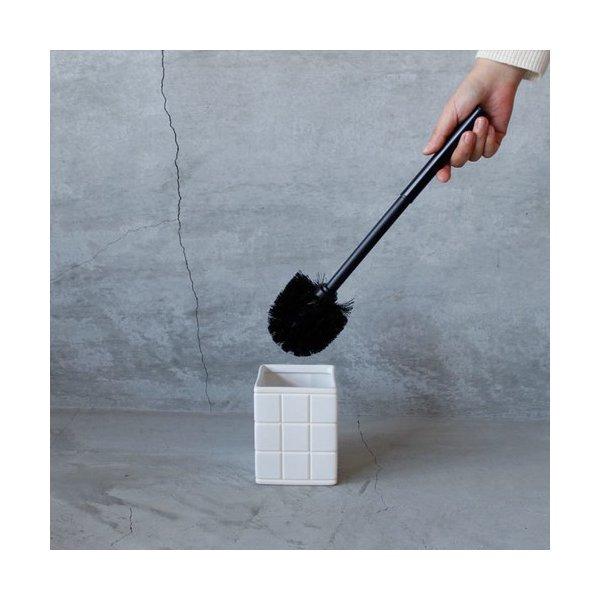 PUEBCO Ceramic Bath Ensemble / Toilet Brush セラミックバスアンサンブル トイレブラシ ゆうパック発送