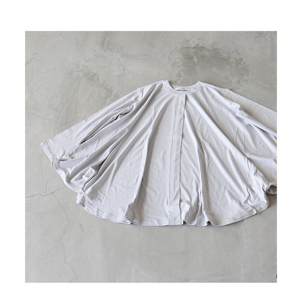 MIDIUMISOLID ミディウミソリッド クルーネックワイドプルオーバー 送料無料 レディース ホワイト ブラック グレー 2020SS