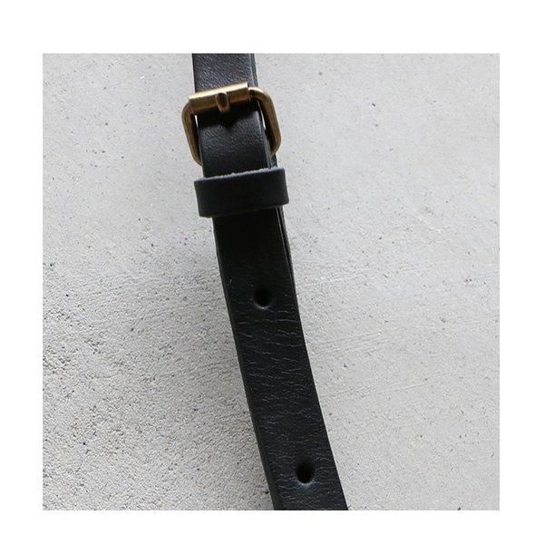 ブラックのみ予約販売 10月上旬入荷予定 TIDEWAY タイドウェイ NUME SHIKAKU MINI ヌメシカクミニ ショルダーバッグ レディース 18AW チョコ ブラック 送料無料