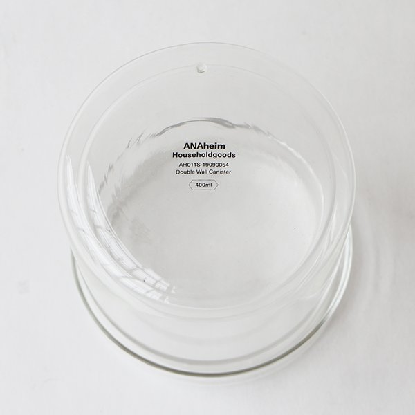 DETAIL INC. DOUBLE WALL CANISTER 400ml ゆうパック発送 キャニスター シンプル 保存容器
