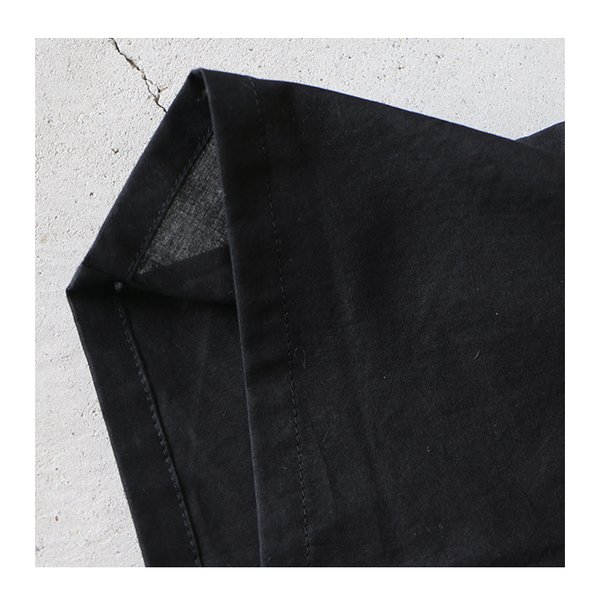 YUiNO ゆいの コットンローンワッシャーワイドパンツ アイボリー ブラウン ブラック メール便対応 レディース 2020SS 日本製