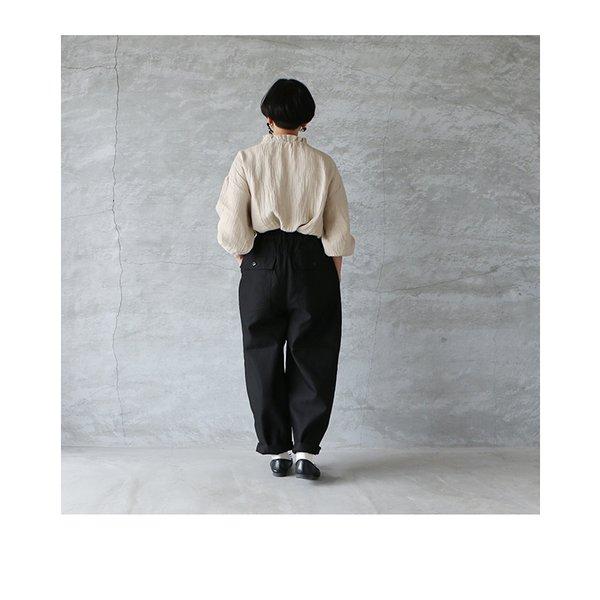 HARVESTY ハーベスティ ギザコットンバックサテンサーカスファティーグパンツ 日本製 送料無料 ミリタリーグリーン ブラック 2021SS