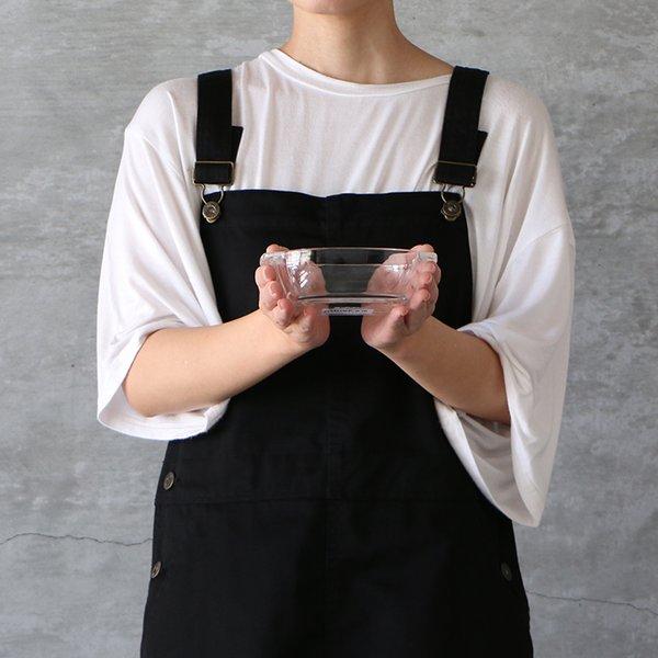 HARIO ハリオ 耐熱ガラス製トースター皿 小 メール便不可 グラタン皿