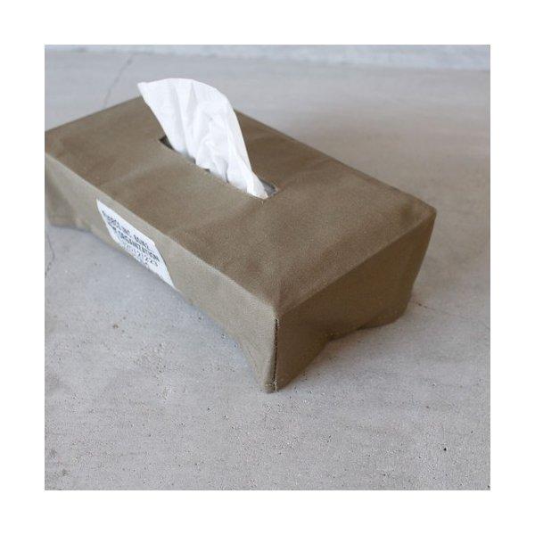 PUEBCO AMINATED FABRIC TISSUE BOX COVER プエブコ ファブリック ティッシュボックスカバー ゆうパック発送