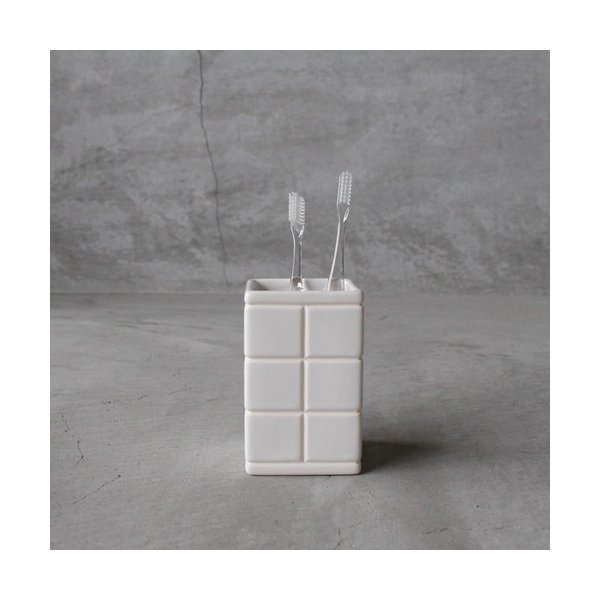 PUEBCO Ceramic Bath Ensemble / Toothbrush Stand  プエブコ セラミック バス アンサンブル トゥースブラシスタンド  洗面台 サニタリー ゆうパック発送
