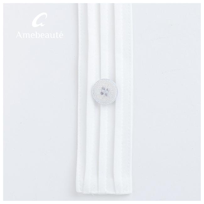 ネイビーブルー&ピュアホワイトリュクスエプロンドレス ALDX10