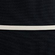 ブラック&エレガントベージュティアードフレアーサロンエプロン ATSL01