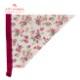 【キッズ】ソニアローズホワイトガールズワンピースフレアーキッズSGFR-K39(三角巾付き)