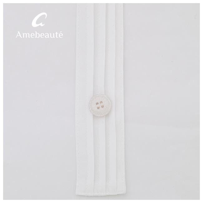 スカイブルー&ピュアホワイト リュクスエプロンドレス ALDX08