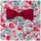 【ジュニア120〜140cm】レッドローズガールズワンピースフレアーエプロン 三角巾付 /SGFR-J43