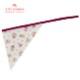 【ジュニア120〜140cm】ワインローズガールズワンピースフレアーエプロン 三角巾付 /SGFR-J44