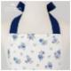 【ジュニア120〜140cm】ネイビーローズガールズワンピースフレアーエプロン 三角巾付 /SGFR-J45