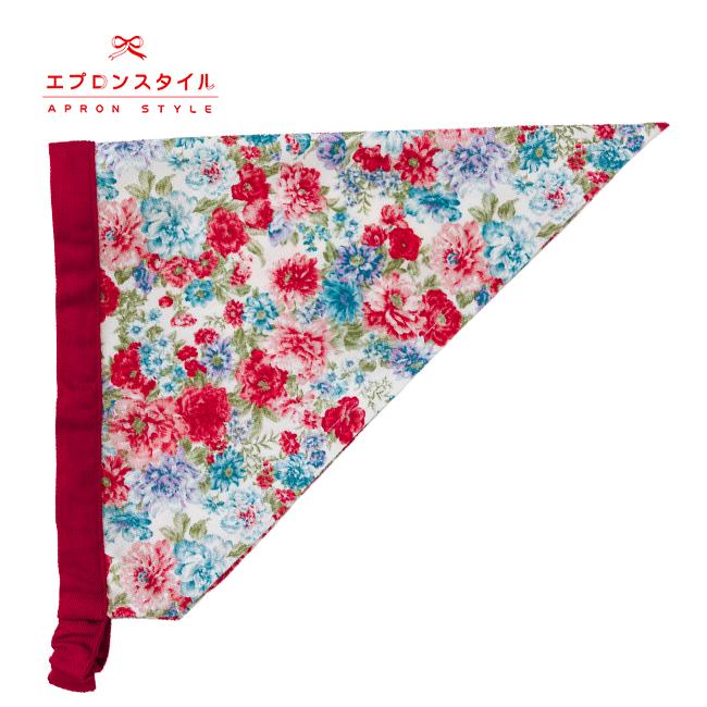 【キッズ】レッドローズガールズワンピースフレアーキッズSGFR-K43(三角巾付き)