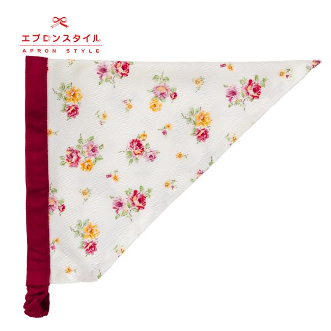 【キッズ】ワインローズガールズワンピースフレアーキッズSGFR-K44(三角巾付き)