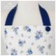 【キッズ】ネイビーローズガールズワンピースフレアーキッズSGFR-K45(三角巾付き)