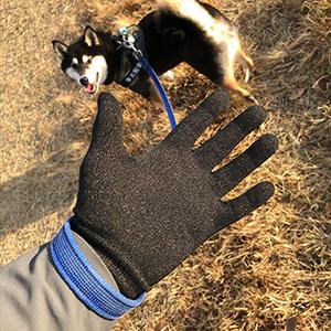 銅繊維抗菌手袋 (接触感染予防・しもやけ・あかぎれ対策に!)