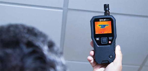 赤外線モイスチャーメーター(水分計)FLIR MR176