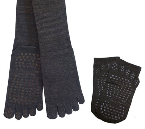 【しもやけ対策に】 銅繊維靴下「足もとはいつも青春」 5本指タイプ
