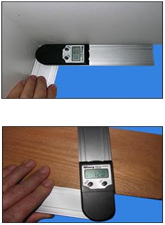 デジタルプロトラクター(分度器)『はさむと何度?』Wixey WR4001(75mmタイプ)/WR4101(200mmタイプ)