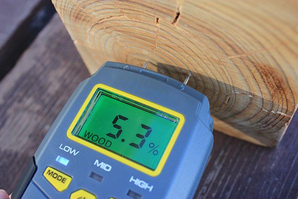木材水分計『プロ4E』(含水率計)