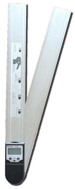 デジタルプロトラクター(分度器)『はさむと何度?』Wixey WR4121(330mmタイプ)/WR4181(480mmタイプ)