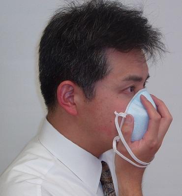 """インフルエンザ・感染症対策マスク """"N95/DS2タイプ""""(PM2.5、黄砂対策にも!)"""