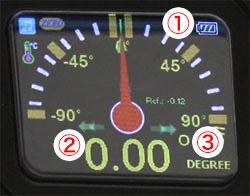 2軸式デジタル水準器 D2000