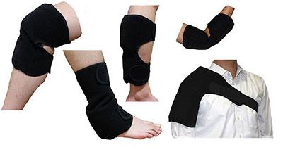 保冷アイシングサポーター(スポーツ後のアイシングや作業後の腱鞘炎予防等に)