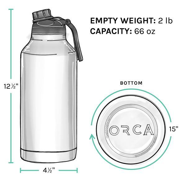 ORCA Bottle 66oz ODGreen/Black/ODGreen