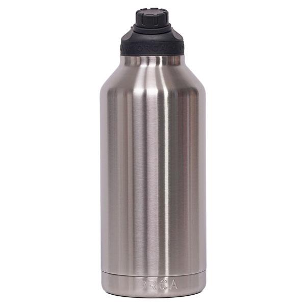 ORCA Bottle 66oz Stainless/Black/Black