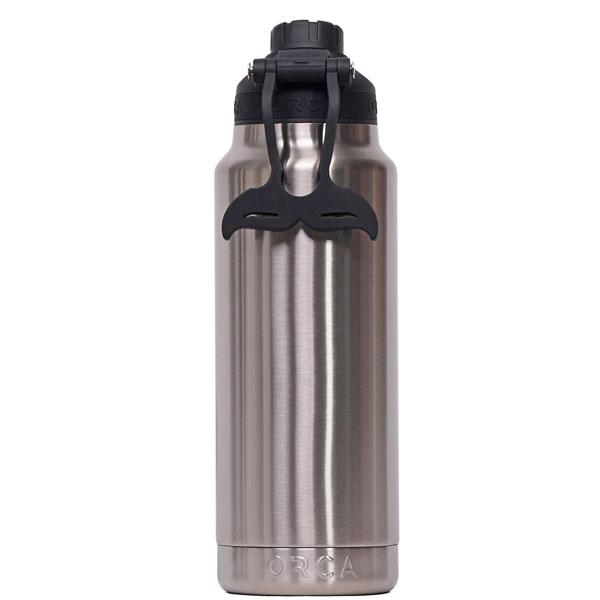 ORCA Bottle 34oz Stainless/Black/Black