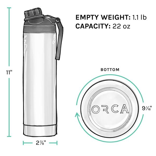 ORCA Bottle 22oz ODGreen/Black/ODGreen