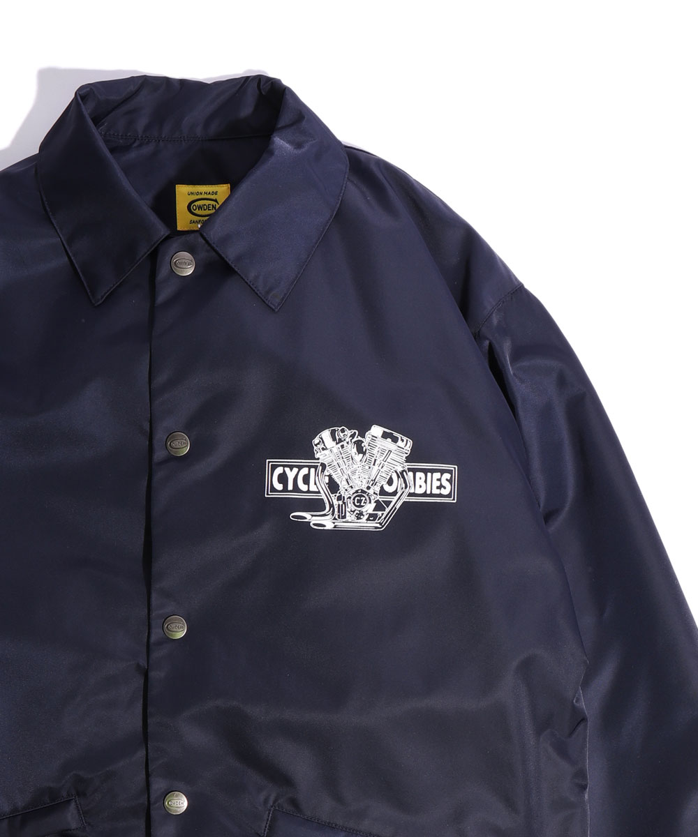Cycle Zombies x COWDEN BIG TWIN Coaches Jacket