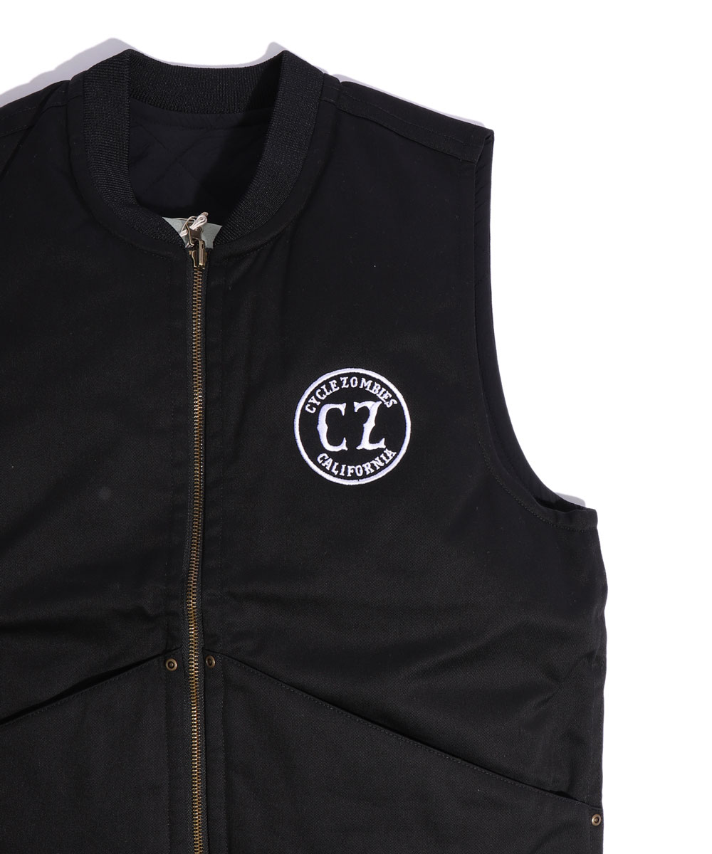 Cycle Zombies x COWDEN CALIFORNIA Vest