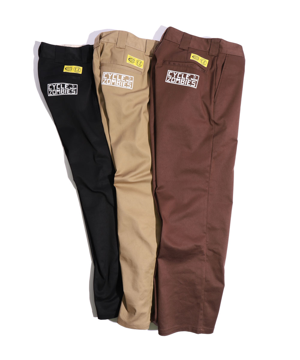 Cycle Zombies x COWDEN SURF TRASH Slim Work Pants