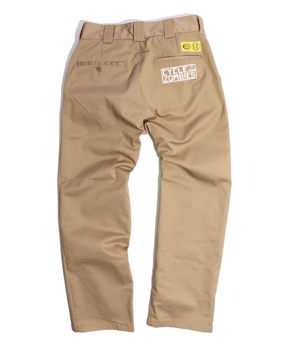 Cycle Zombies x COWDEN SURF TRASH Regular Work Pants